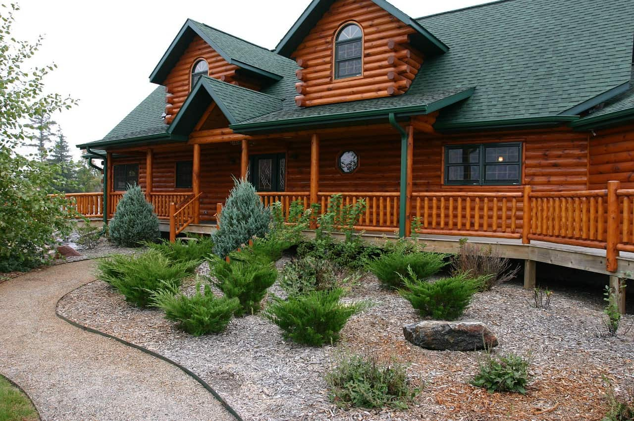 Log cabin kits custom log home cabin plans and prices for Large cabin kits